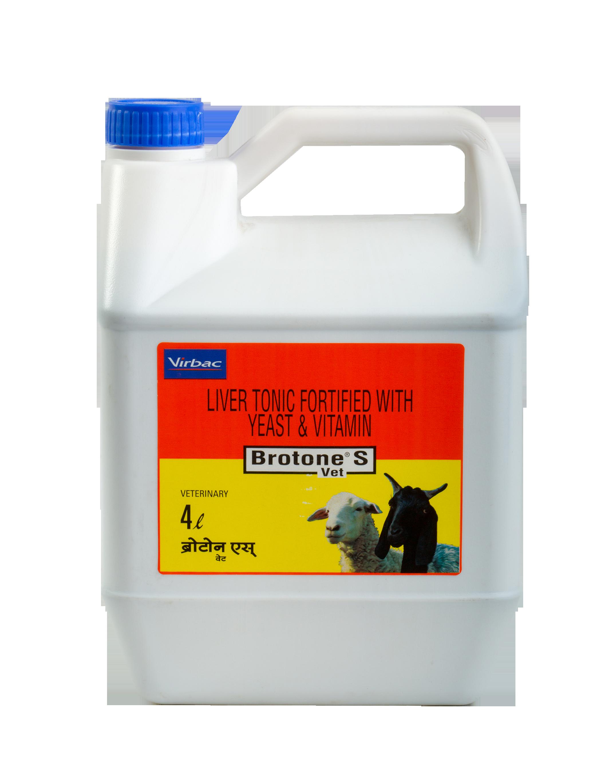 BROTONE S - Sheep and Goat Liver Tonic | Virbac India