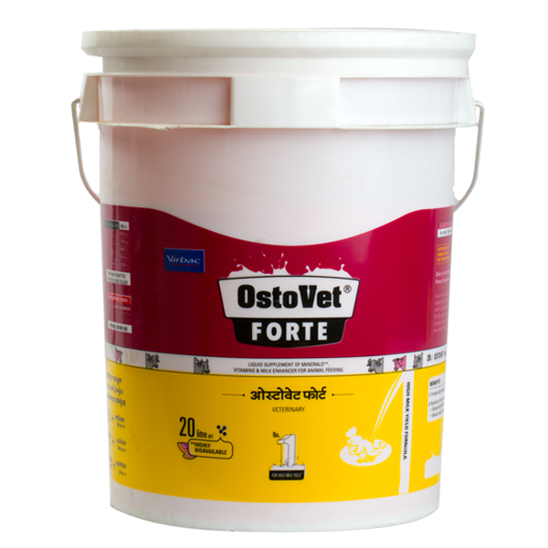 India S No 1 High Milk Yield Formula With Organic Minerals Ostovet Forte